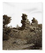 The Dutchmangarden Of The Gods, Colorado Fleece Blanket