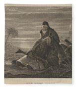 The Dying Greek Fleece Blanket