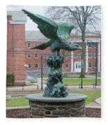 The Eagle - Widener University Fleece Blanket