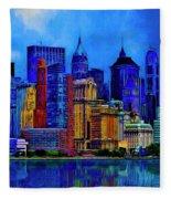 The East Side Fleece Blanket