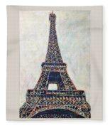 The Eiffel Tower Fleece Blanket