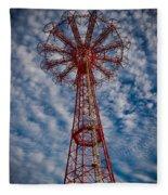 The Eiffel Tower Of Brooklyn Fleece Blanket