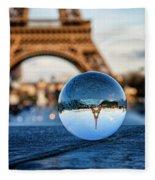 The Eiffeltower Fleece Blanket