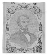 The Emancipation Proclamation Fleece Blanket