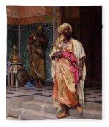 The Emir Fleece Blanket