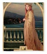 The Empress Fleece Blanket