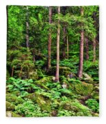 The Enchanted Forest Fleece Blanket