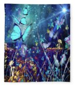 The Enchanted Garden Fleece Blanket