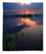 The End Of The Day Fleece Blanket