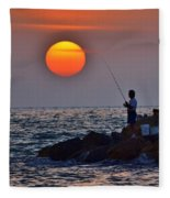 The End Of The Line Fleece Blanket