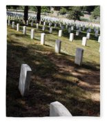 Arlington Tombstones Shade And Light Fleece Blanket