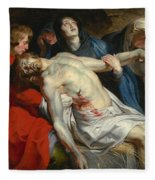 The Entombment Fleece Blanket