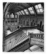 The Escher View Fleece Blanket