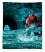 The Eternal Ballad Of The Sea Fleece Blanket