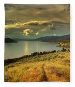 The Evening Calm Fleece Blanket