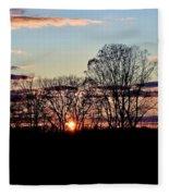 The Evening Sky Fleece Blanket