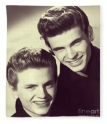The Everly Brothers Fleece Blanket