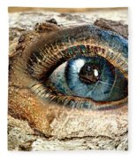 The Eye Of Nature 1 Fleece Blanket