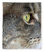 The Eye Of The Tiger  Fleece Blanket