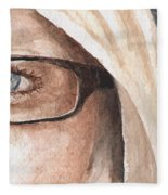 The Eyes Have It - Dustie Fleece Blanket