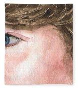 The Eyes Have It - Franci Fleece Blanket