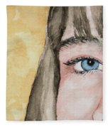 The Eyes Have It - Bryanna Fleece Blanket