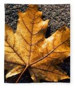 The Fall Of Autumn Fleece Blanket