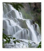 The Falls Of Fall Creek Fleece Blanket