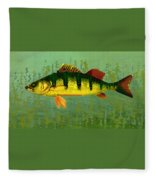 The Fanciful Limon Barb Fleece Blanket