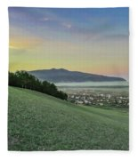 The Far Mountain Fleece Blanket