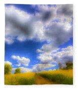 The Farm Art Vista Fleece Blanket