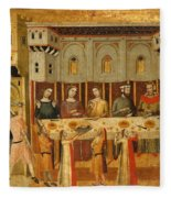 The Feast Of Herod And The Beheading Of The Baptist Fleece Blanket