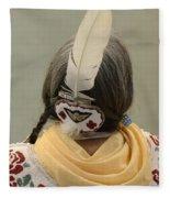 Pow Wow The Feather Fleece Blanket