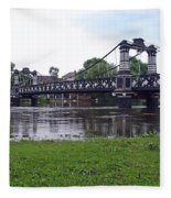 The Ferry Bridge Fleece Blanket