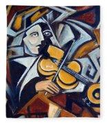 The Fiddler Fleece Blanket