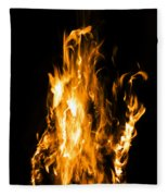 The Fire Within Fleece Blanket