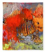 The Firecat Fleece Blanket