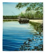 The Fisherman Fleece Blanket