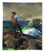 The Fisherman Fleece Blanket