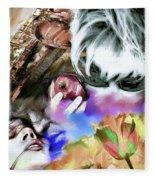 The Five Senses Fleece Blanket