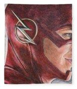 The Flash / Grant Gustin Fleece Blanket