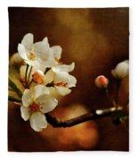The Fleeting Sweetness Of Spring Fleece Blanket