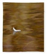 The Floating Feather Fleece Blanket