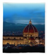 The Florence Cathedral  Fleece Blanket
