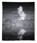 The Florida Everglades Fleece Blanket