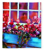 The Flowerbox Fleece Blanket