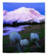 The Flowers Of Sunrise  Fleece Blanket