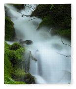 The Flowing Brook Fleece Blanket