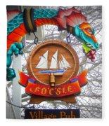 The Fo'c'sle Village Pub Fleece Blanket
