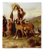 The Forester's Family Fleece Blanket